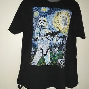 Star Wars Vader t shirt new size XL